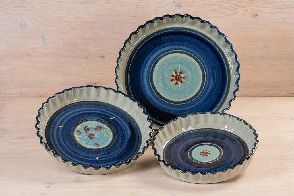 Quiche Form – türkis/blau